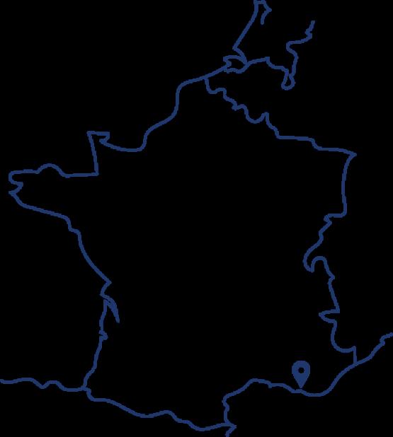 Cultivé dans le sud de la France