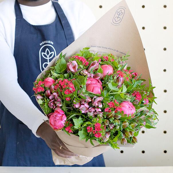 Bouquet de fleurs Fête des Mères